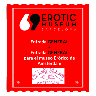 Entrada General + Entrada para Museo Erótico Amsterdam